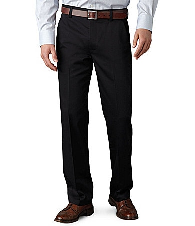 Dockers Never-Iron� Essential Khaki Slim-Fit Flat-Front Pants