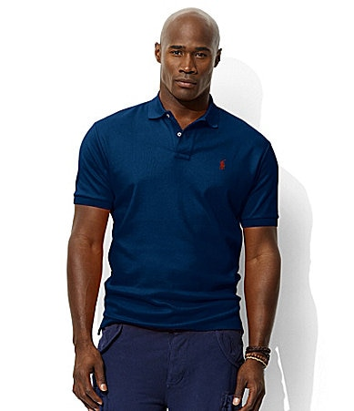 Polo Ralph Lauren Big & Tall Classic-Fit Interlock Knit Polo Shirt