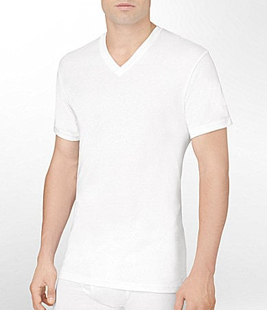 Calvin Klein V-Neck T-Shirts 3-Pack