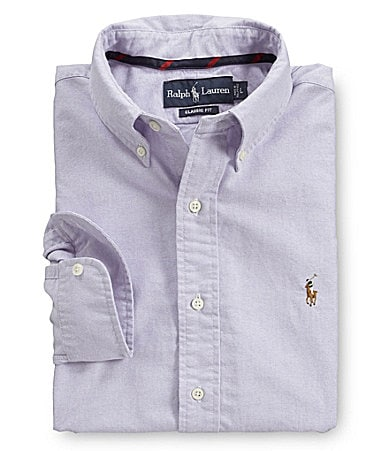 Polo Ralph Lauren Classic-Fit Woven Oxford Sportshirt
