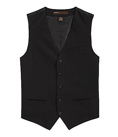 Perry Ellis Solid Vest