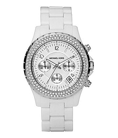 Michael Kors Madison Glitz Chronograph Sport Watch