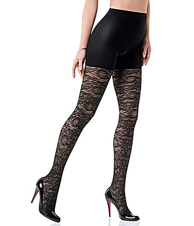 Spanx Tight-End Bloom Lace Tights
