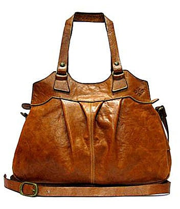 Patricia Nash Leather Napoli Shoulder Bag