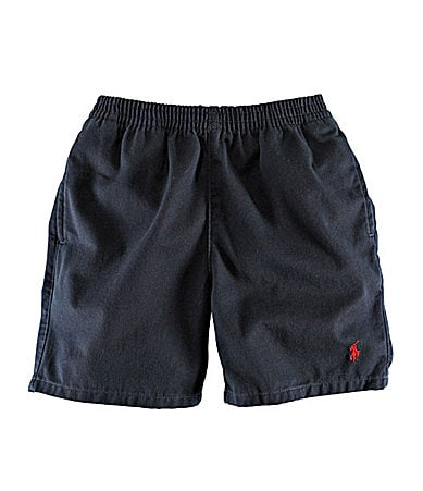 Ralph Lauren Childrenswear 4-7 Twill Sport Shorts