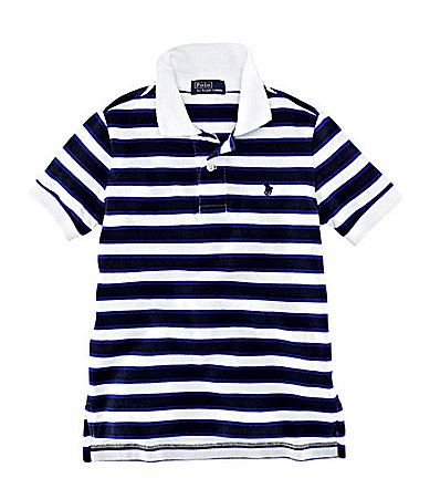 Ralph Lauren Childrenswear 8-20 Striped Polo Shirt