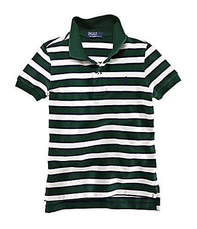 Ralph Lauren Childrenswear Infant Striped Polo Shirt