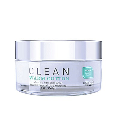 Clean Warm Cotton Moisture Rich Body Butter