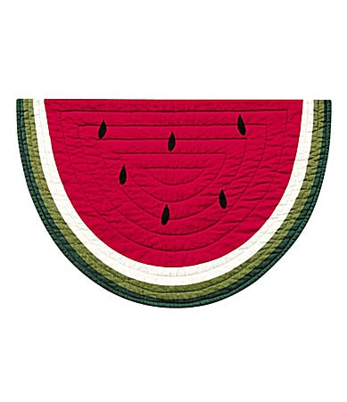 C & F Enterprises Watermelon Placemat