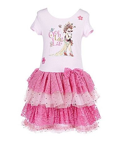 Fancy Nancy 2T-6X Ooh La La Dress