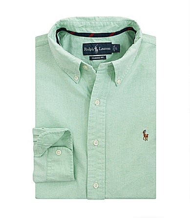 Polo Ralph Lauren Classic-Fit Solid Oxford Sportshirt