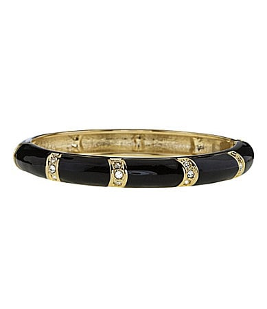 Anna & Ava Bamboo Hinge Bangle