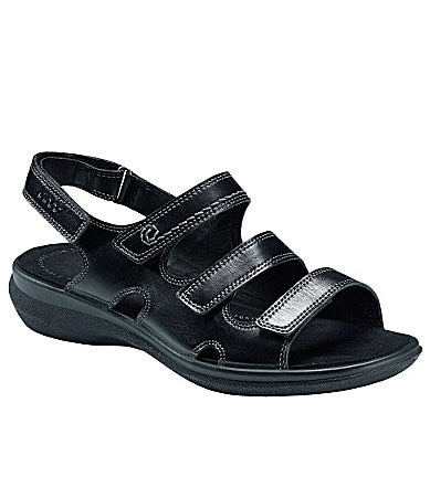 Ecco Breeze 3-Strap Sandals