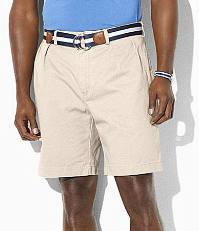 Polo Ralph Lauren Big & Tall Tyler Pleated Chino Shorts