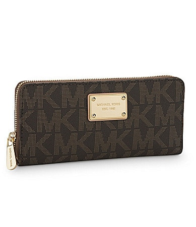 MICHAEL Michael Kors Zip-Around Continental Wallet