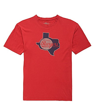 Red Jacket Texas Rangers Tee