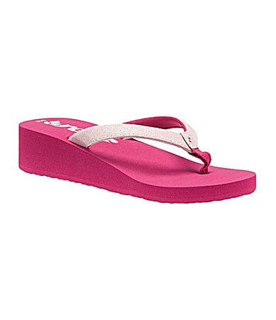 Reef Girls Krystal Star Thong Sandals