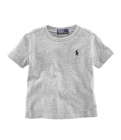Ralph Lauren Childrenswear Infant  Basic Crewneck Tee