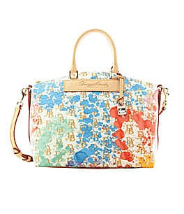 Dooney & Bourke Signature Splash-Print Satchel