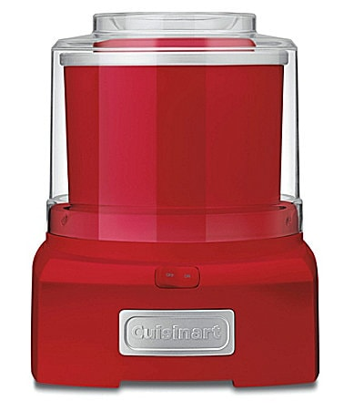 Cuisinart Red Frozen Yogurt, Ice Cream & Sorbet Maker