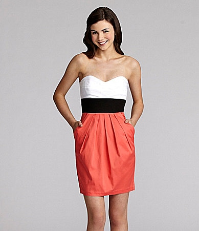 B. Darlin Colorblock Dress