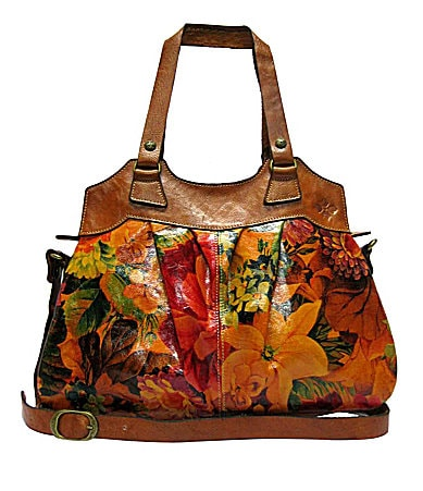 Patricia Nash Leather Multicolor Napoli Shoulder Bag