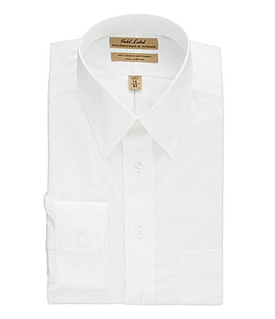 Roundtree & Yorke Gold Label Non-Iron EZ Cool Point-Collar Dress Shirt
