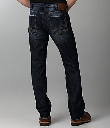 Silver Jeans Co. Grayson Heritage Straight-Fit Jeans