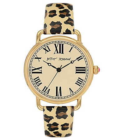 Betsey Johnson Vintage Leopard Watch
