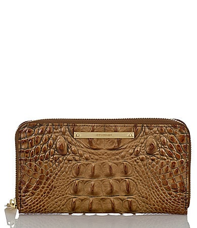 Brahmin Toasted Almond Collection Suri Wallet