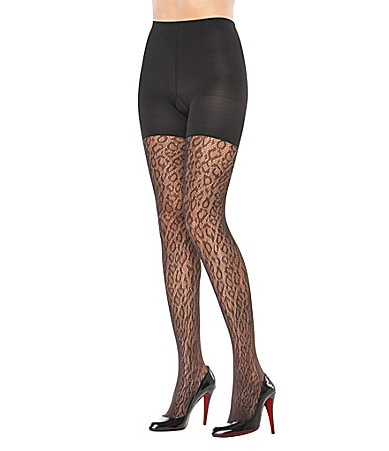 Spanx Uptown Tight-End Animal Print Tights