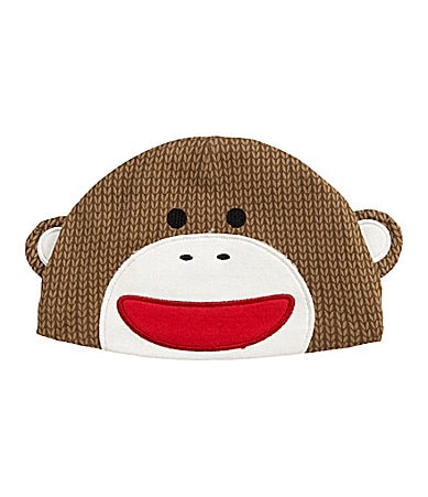 Baby Starters Newborn Sock Monkey Knit Hat