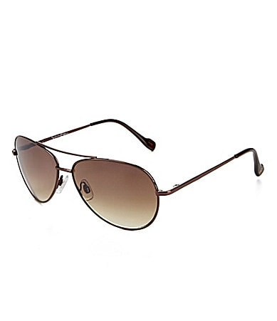 Jessica Simpson Metal Aviator Sunglasses