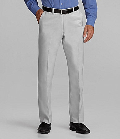 Perry Ellis Non-Iron Flat-Front Pants