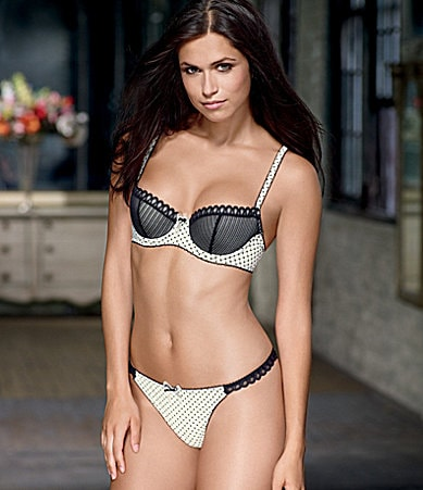 b.tempt�d by Wacoal La Parisienne Push-Up Bra & Thong