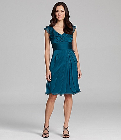 Adrianna Papell Chiffon Dress