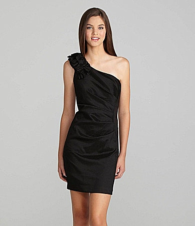 Hailey Logan One-Shoulder Dress