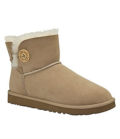 UGG Australia Women�s Mini Bailey Button Boots