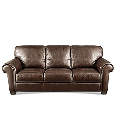 HTL Concord Leather Sofa