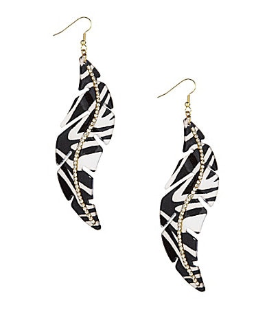 Anna & Ava Triple Threat Drop Earrings