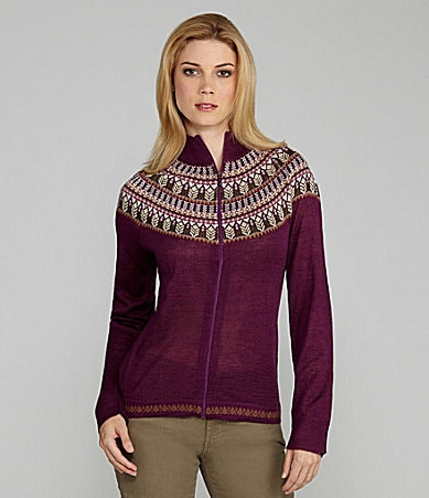 Woolrich Laurel Fair-Isle Cardigan