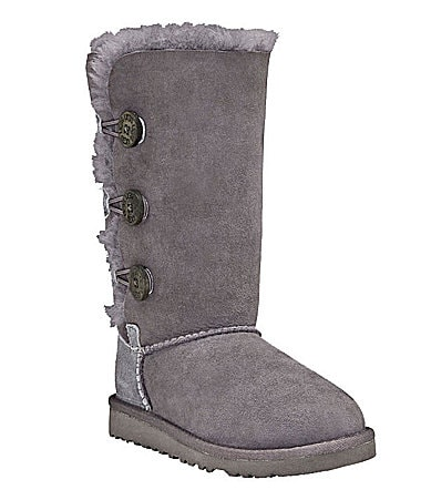 UGG Australia Girls' Bailey Button Triplet Boots