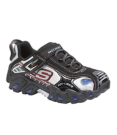 Skechers Boys Hot Lights-Manifold Sneakers