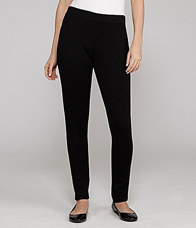 Cupio Straight-Leg Ponte Pants