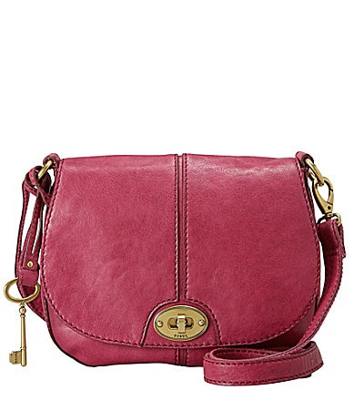 Fossil Carson Flap Cross-Body Bag