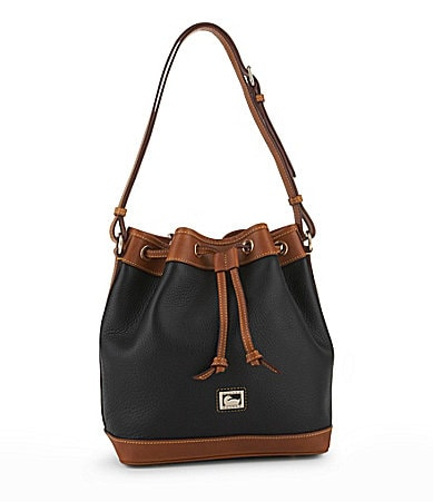 Dooney & Bourke Dillen Leather Drawstring Tote