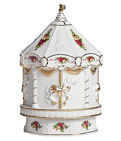 Royal Albert Old Country Roses Carousel Musical