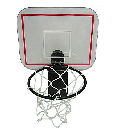 Cheering Basketball Hoop