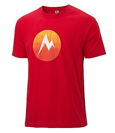 Marmot Textured Dot Logo Graphic Tee