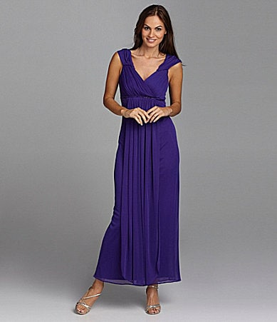 Alex Evenings Beaded Gown